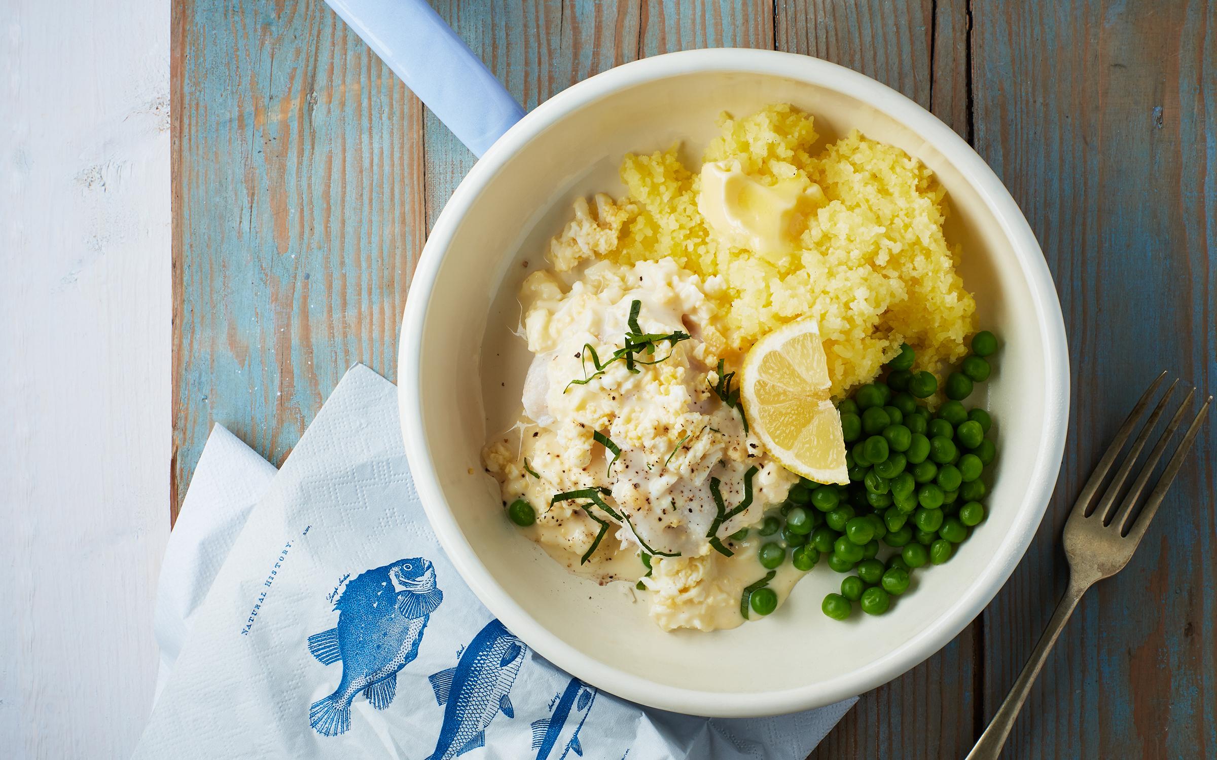 Kalorisnåla recept med fisk