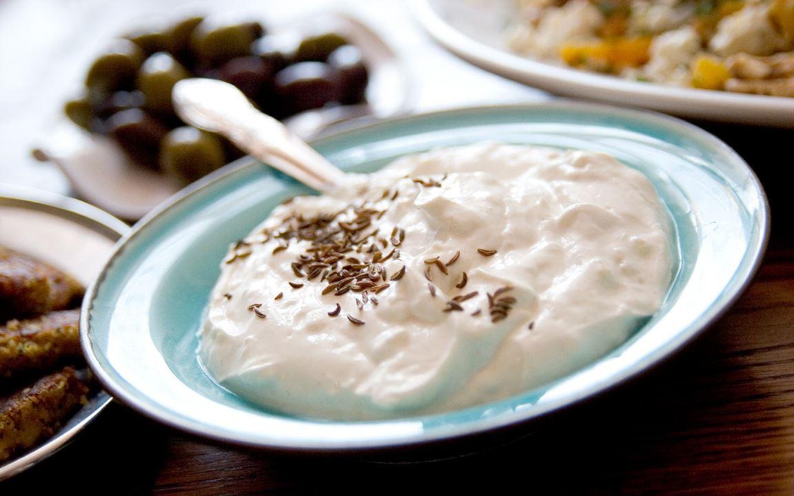 Kryddig yoghurt