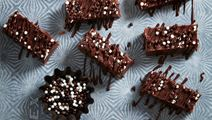Chokladfudge med strössel