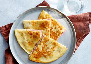 Quesadillas med skinka
