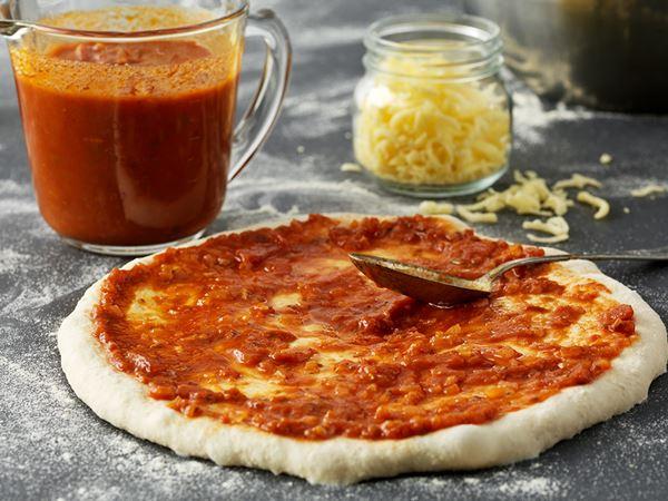 Tomatsås till pizza