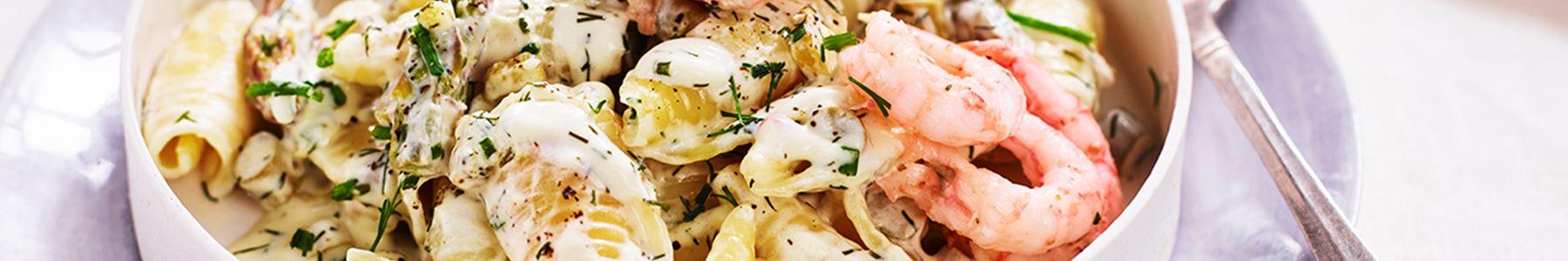GI-vänlig mat med skaldjur