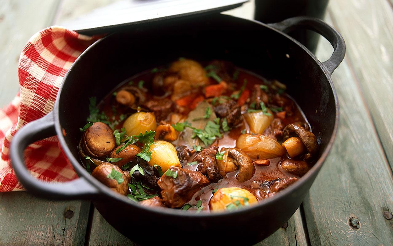 recept på gryta med nötkött
