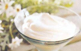 Gräddyoghurt med bär