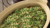 Vegetarisk risotto med grönkål