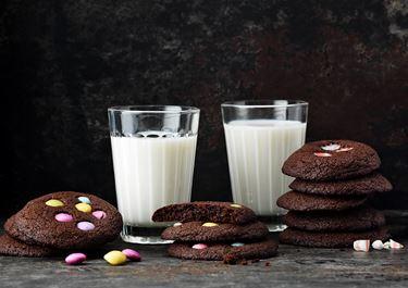 Cookies med godis