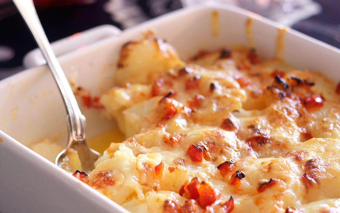 Ostgratinerad potatis