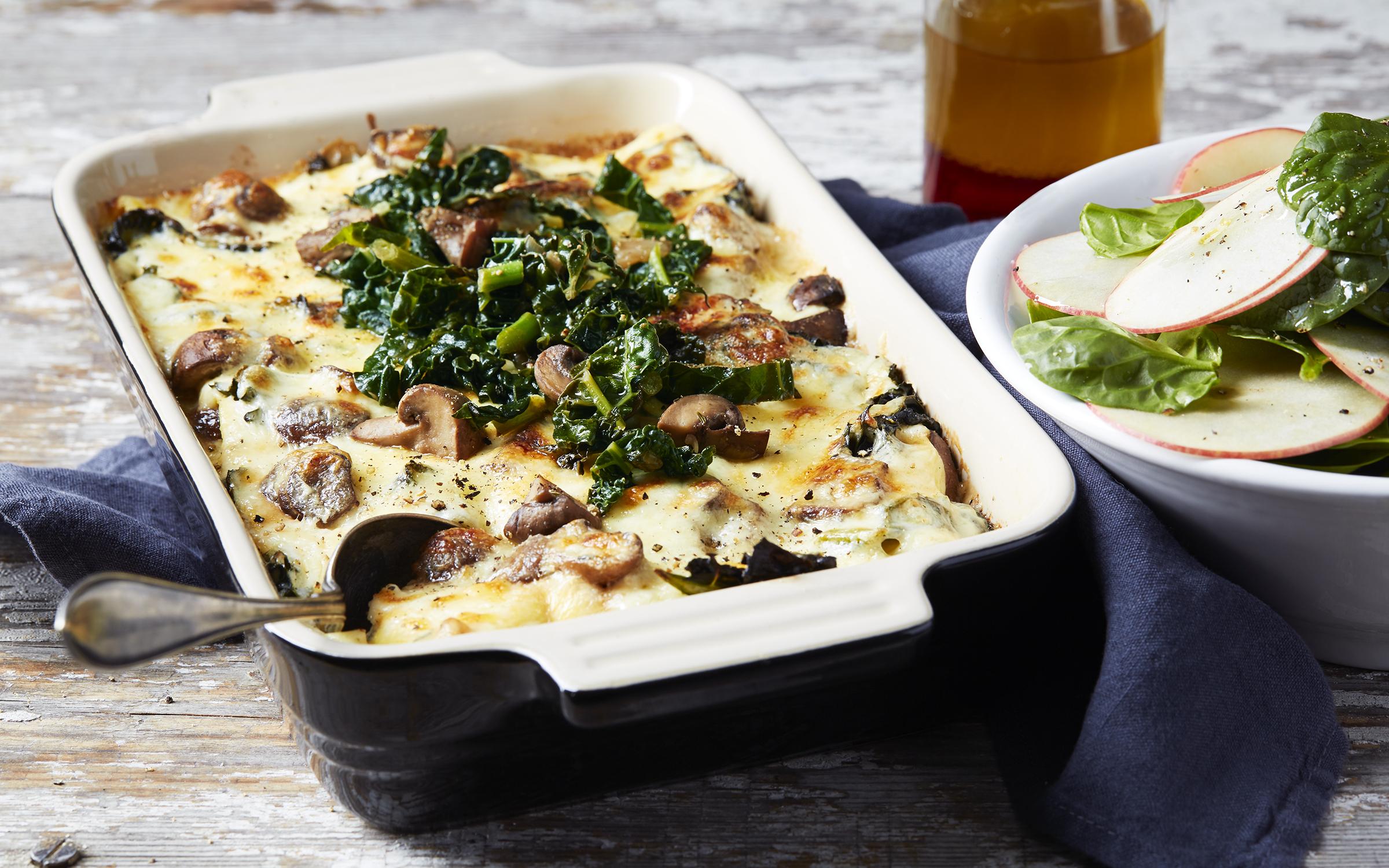 vegetarisk lasagne arla