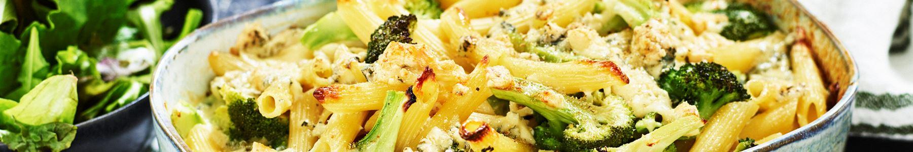 Vegetarisk + Broccoli + Ädelost