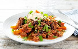 Viltgryta med chili