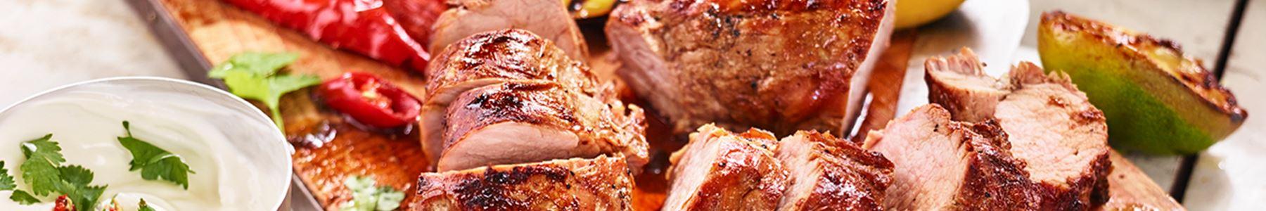 Grillat kött till huvudrätt
