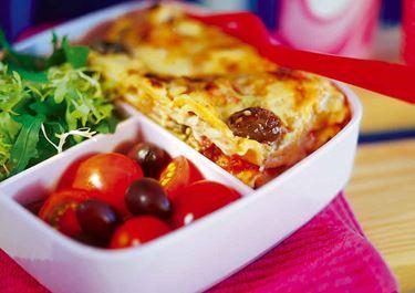 Lasagne med zucchini