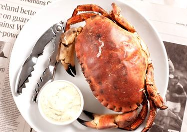 Sås till färsk krabba och andra skaldjur