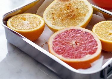 Gratinerad grapefrukt