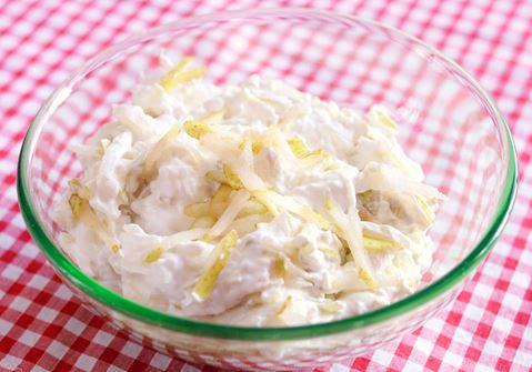 Tsatsiki med päron