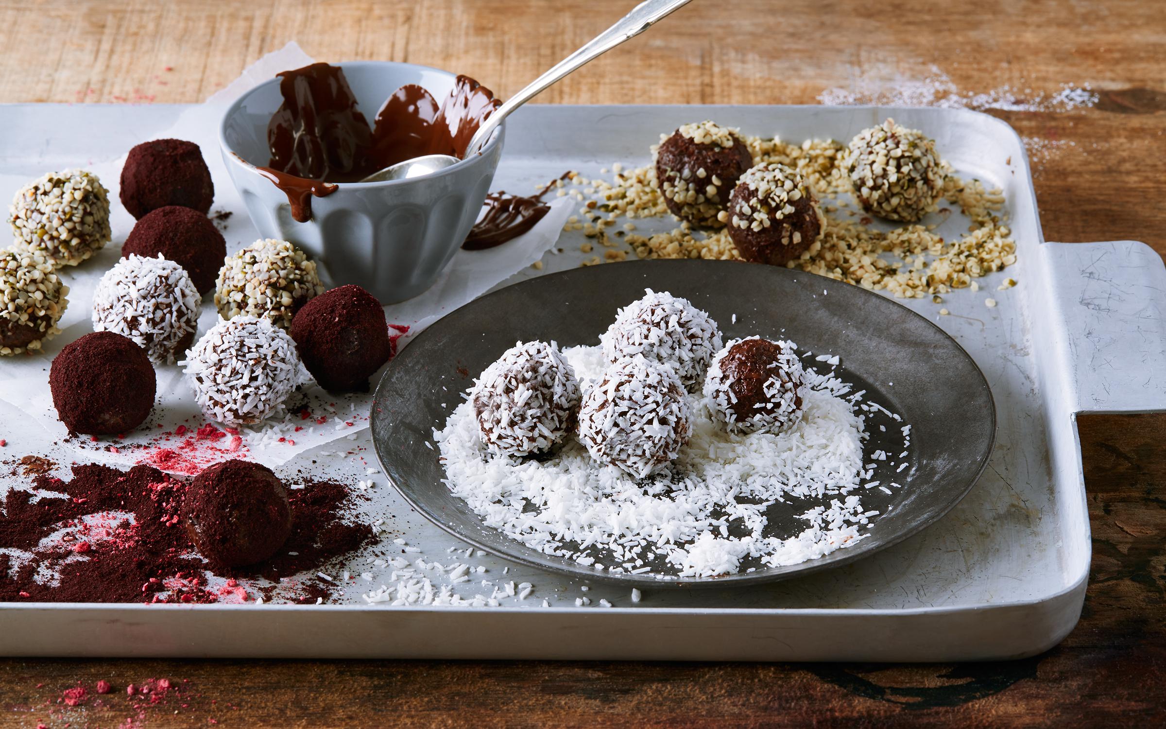 chokladbollar utan havre