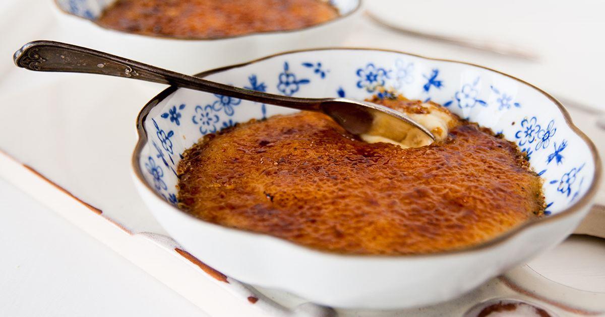 creme brulee recept arla