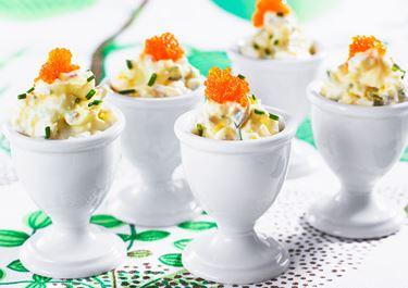 Ägg- och romröra
