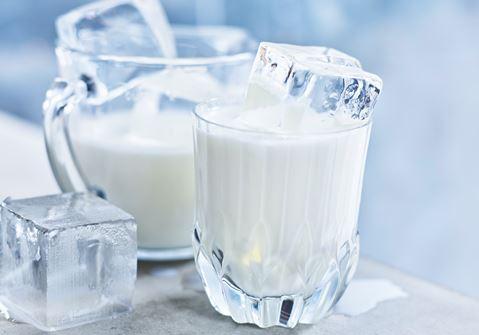 Mjölk med is