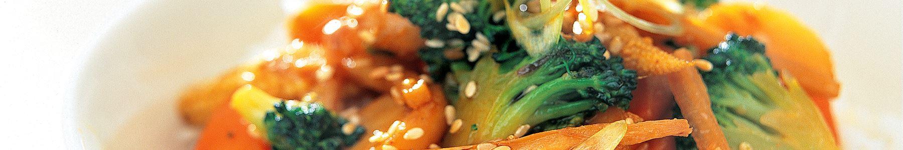 Vegetarisk wok