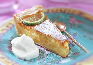 Citron och limekaka