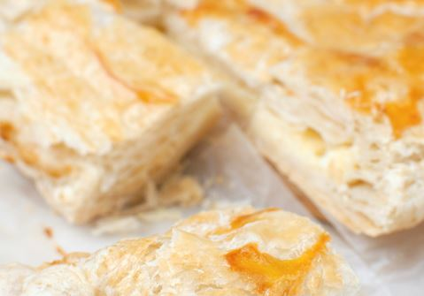 Cheese and Chutney Turnovers