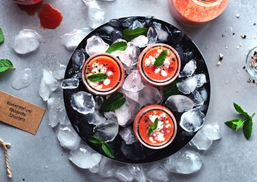 Gazpacho with Yogurt