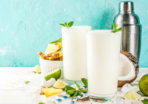 Ginger, Lime and Coconut Smoothie