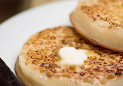 Buttery Crumpets