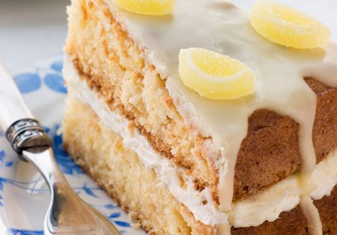 Lemon Drizzle Cake - Recipe | Arla UK