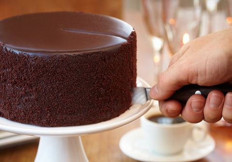 Sticky Chocolate Cake