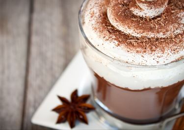 Hot Chocolate Milk with Whipped Cream