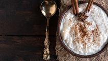 Retro Baked Rice Pudding