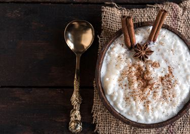 Retro Baked Rice Pudding