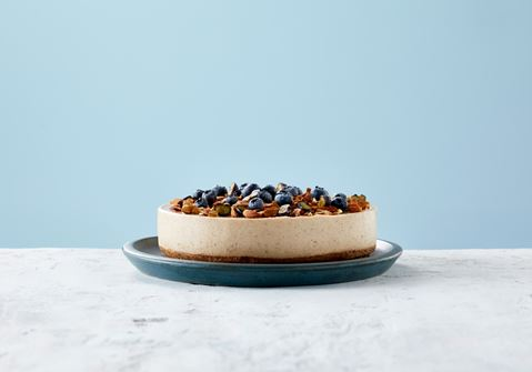 Almond Cheesecake with Lime