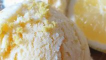 Lactofree Lemon Ice Cream