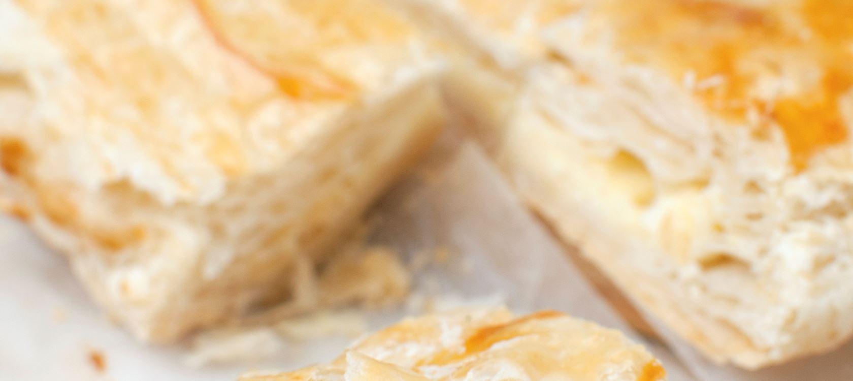 Cheese and chutney turnovers