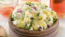 Potato Salad with Horseradish Dressing