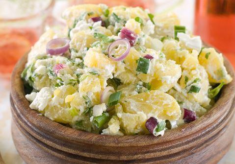Potato Salad with Horseradish Dressing