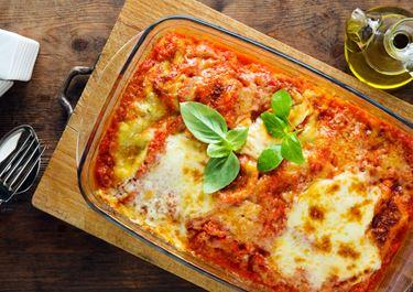 Low-fat Lasagne