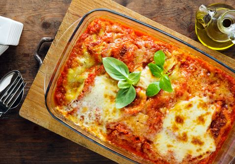 Low-fat Lasagne