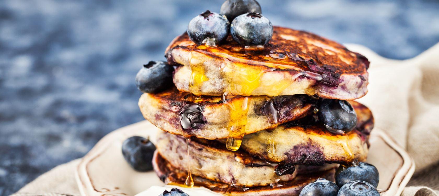 4 Ingredient Protein Pancake Whoopee Stack