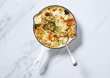 Roast Veg Mac n Cheese
