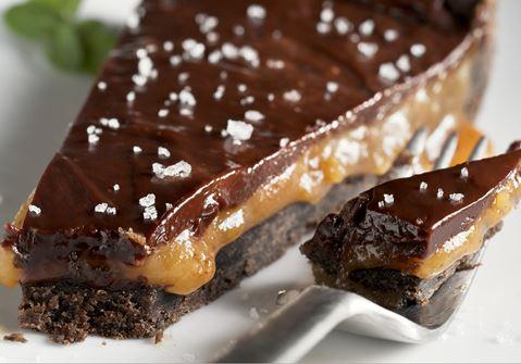 Chocolate Cake with Daim and Caramel