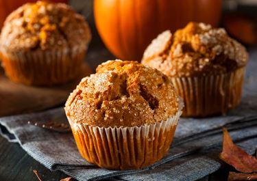 Lactofree Pumpkin Muffins