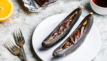 Chocolate Baked Bananas