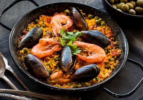 Spicy Paella