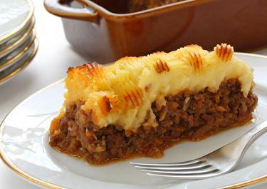 Shepherds Pie with Coarse Puree