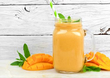 Mango Milk with Orange