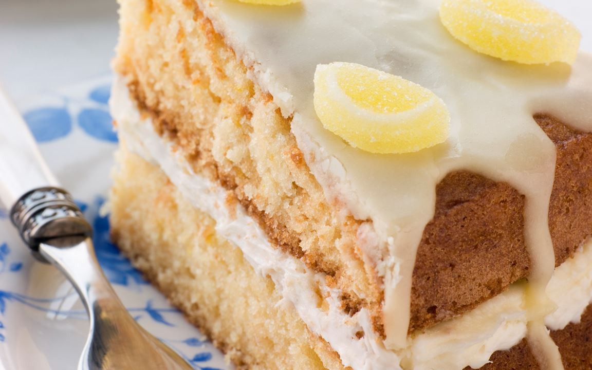 Lemon Drizzle Cake Recipe Arla Uk